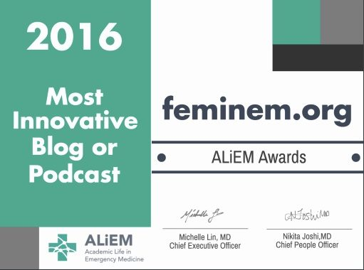 ALiEM award