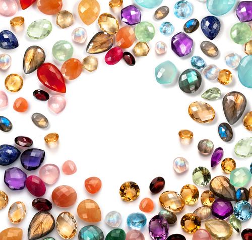 sparkling gems