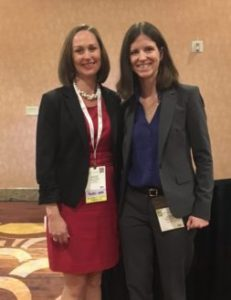 Kate Kellogg, MD (L) and Joan Noelker, MD (R)